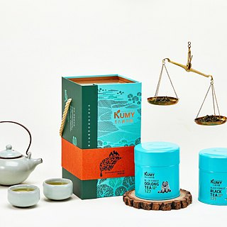 Tea Gift Set_Forest Rhyme_Black Forest(Oolong 600 + Black Tea 171)