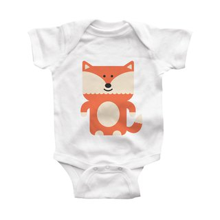 modern moose-fox-infant-bodysuit