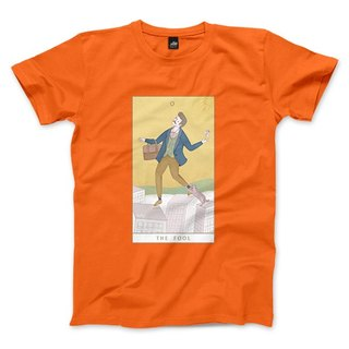 O | The Fool - Fluorescent Orange - Unisex T-Shirt