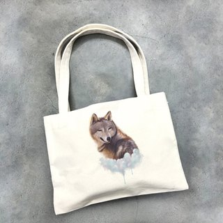 Cloud Wenchuangfeng magazine canvas bag