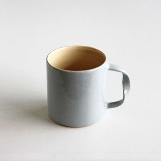 Handmade Ceramic Flow Cup - Cloud Grey