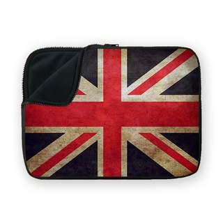 United Kingdoms Flag shock absorbing waterproof laptop bag BQ7-MSUN12