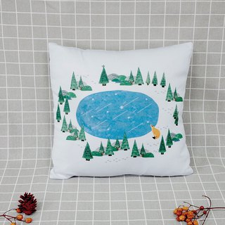 [Little Fox] Quiet Lake Pillow