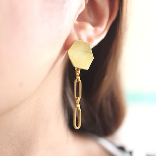 Stylish-Brass earrings