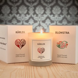 "Say it with Vana Candles - 2in1 Gift Box ""Warm LOVE"""