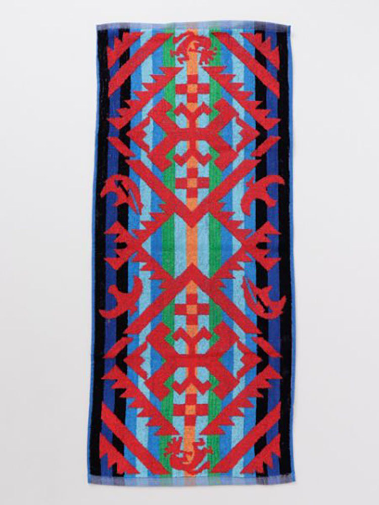 Pre-ordered new popular Indian totem towel CBMP8202 BLUE blue