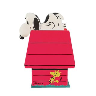 Snoopy Red House Note Paper/Box [Hallmark-Peanuts Snoopy Stationery]