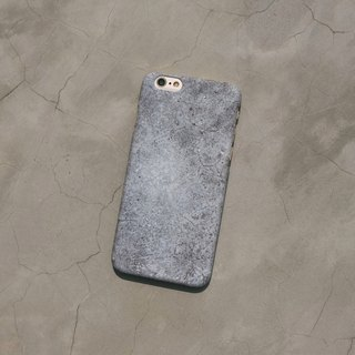 Original frosted rock Phone case (iPhone model) with stony tuff  pattern and hard shell back case