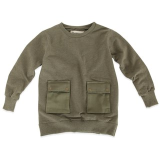 Nordic children's wear organic cotton long ribbed shirt long-sleeved shirt (limited edition)
