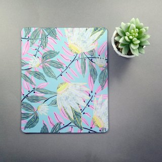 Flower Mouse Pad Home Office Decor
