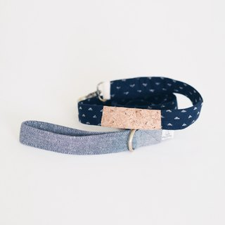 Indigo Corkboard Mix Leash | For Dogs