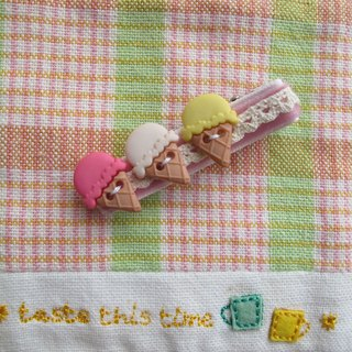 Ice-Cream Cones Hair Clip (Large)