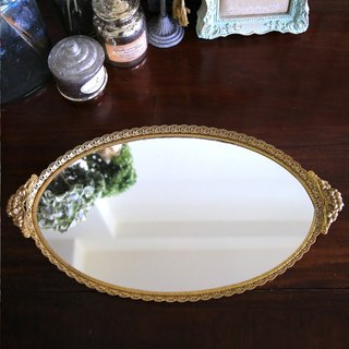 American antique mirror tray No.16 large size mirror tray tray