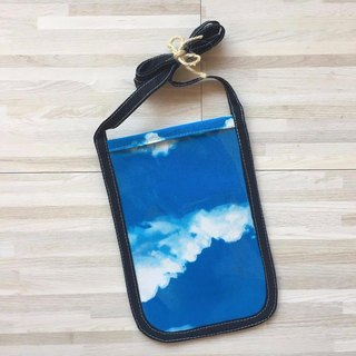 Phone hanging neck package _ blue sky subsection