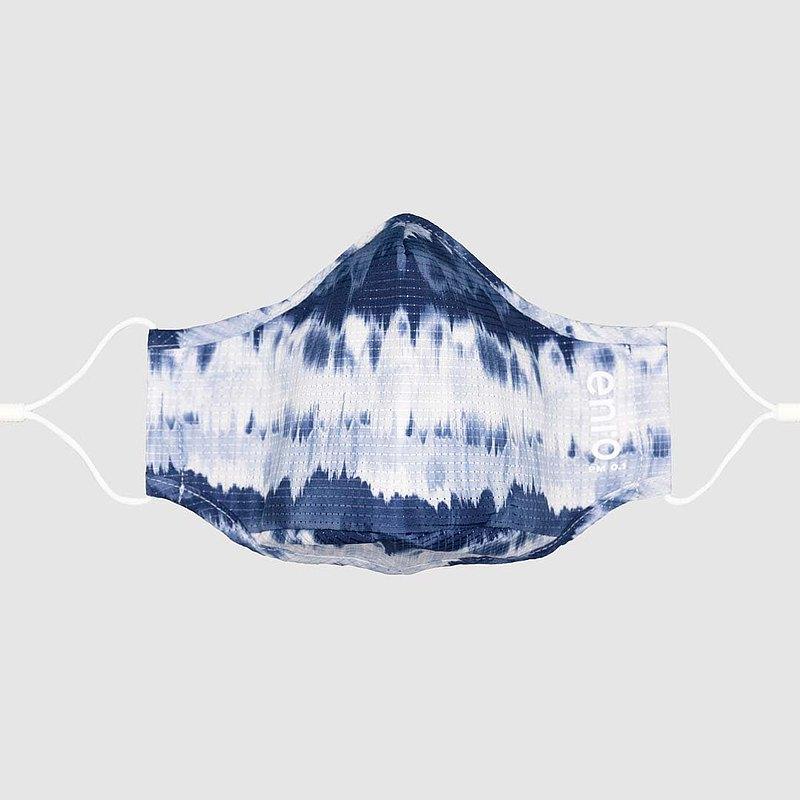 【海洋系列 | 紮染】深藍  可重用口罩 100洗 | 高效防護