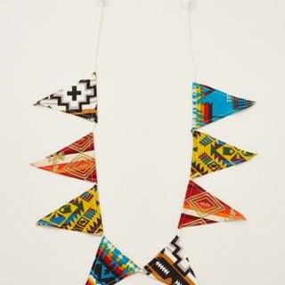 Pre-ordered ethnic Indian totem pennant ISAP7387