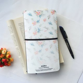 Custom crystal plane notebook notebook (can print) (Figure Style: Inspira Rosy)