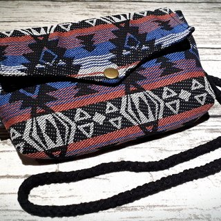 AMIN'S SHINY WORLD Handmade Nordic totem ethnic jacquard seagull cover copper shoulder bag