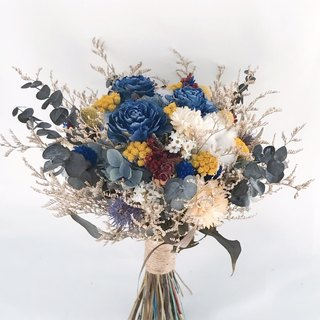 Elegant and elegant dry not separable flowers / gifts / wedding / bouquet / wedding props / wedding arrangements