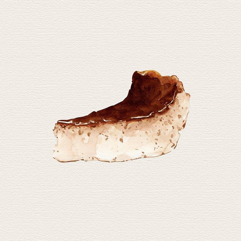 巴斯克乳酪蛋糕  4吋 (滿千免運)