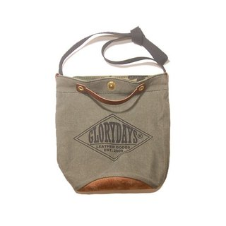 Military canvas bag - Military canvas bucket bag