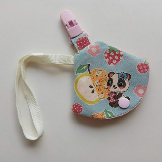 Cute cat bear pacifier dust cover clip nipple clip + pacifier set vanilla nipple available pacifier bag
