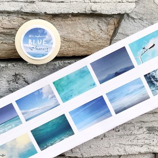 Blue Blue Scenery / 25mm Paper Tape