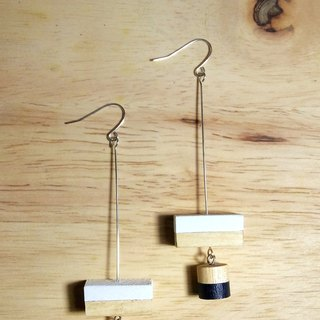 Wooden Earrings No.22