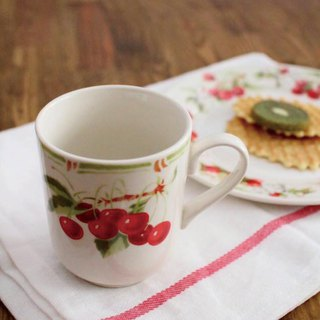 France imported Comptoir de Famille cherry mug