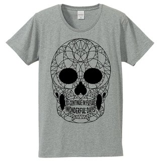 [T-shirt] THE SKULL / Gray