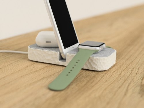 docking station, apple watch holder, apple watch stand, iphone stand, iphone holder, gift for her, gift for him