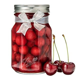 Ball Mason Jar Mason Jar _16oz Narrow-mouthed cherry jar single box 4 into