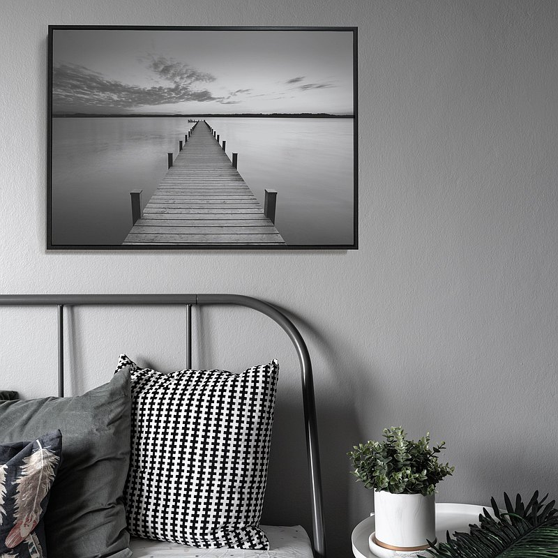 Twilight and the Bridge-home decor, wall arts,Nordic paintings,Interior Design