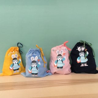 Plus purchase of goods - Bunny Traveler pull rope cotton bag (random shipments)