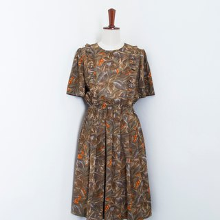 Banana Flyin Vintage :: Tropical Jungle :: Vintage Short Sleeve Dress