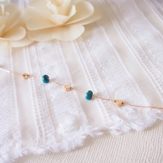 Anniewhere | Reason & Sensibility | Turquoise Love Bracelets/Ankles