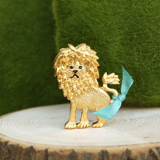 Japanese handmade ornaments - Lion King pin