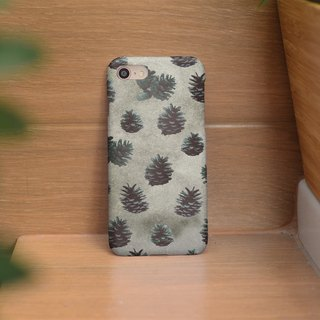blue Pine cones iphone case สำหรับ iphone7 iphone 8, iphone 8 plus ,iphone x