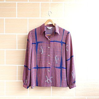 │Slowly │ into the autumn - ancient shirt │ vintage. Retro.