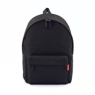 Waterproof Heavy Canvas Backpack ( 13.5 / 15.5 Notebook ) / Black