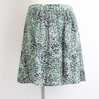 i'm flower pleated skirt
