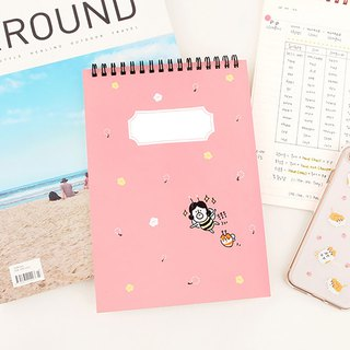 Hello DunDun 啰登登系列 coil notebook 04. Little bee