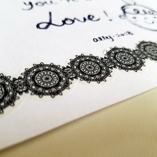 [TooL] Curved Tape ‧ Lace Black Lace Black / GTIN : 4713077972946