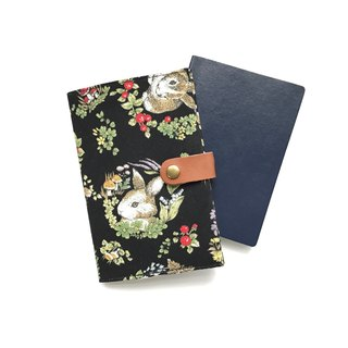 Passport Holder| Rabbit |Forest |Black