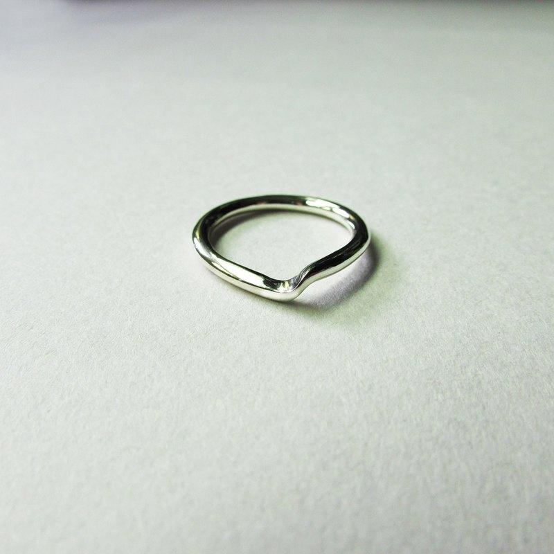turning ring_轉折戒指 925銀 限量 設計師手做 超取免運