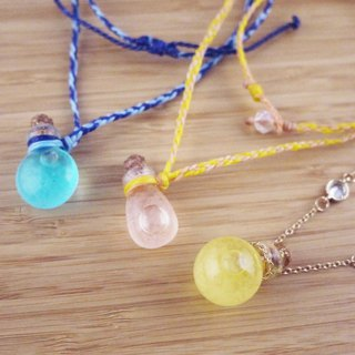 [Weather Bottle Necklace]