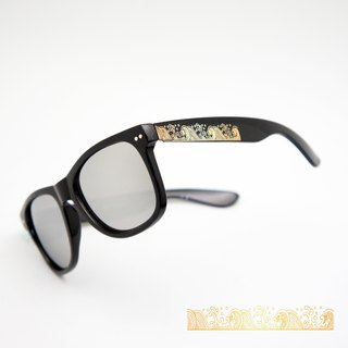 BLR sunglasses Golden Wave