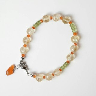[Love you] Handmade natural stone bracelet X