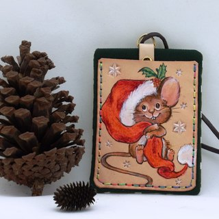 Card Set - Christmas Squirrel (Side)