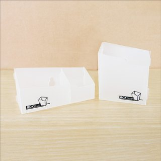 【OSHI】 Exchange Gift ~ BOX PLUS Storage Box (Cell + Double Cell) Mobile Phone Cosmetics Small Things Social Fresh People
